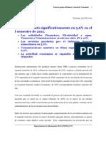 Reseña BCV PIB IIT 2011