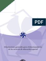 Librio Morado Orientaciones Generales Para El Servicio de Educacion General