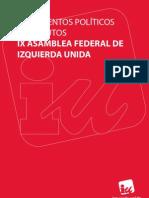 Docs IX Asamblea Federal IU