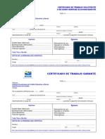 Certificado de Trabajo Solicit Ante y Garante