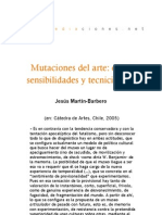 Mutaciones del arte. Entre sensibilidades y tecnicidades