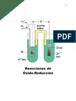 Reacciones de Óxido-Reducción
