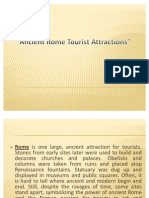 Ancient Rome Tourist Attractions