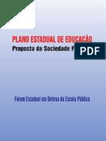Plano Estadual de Educação