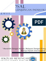 Proposal Kunjungan Industri SMAKBo 2011