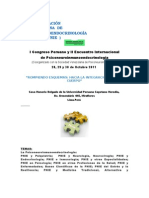 I Congreso Peruano y II Encuentro Internacional