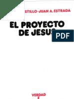 castillo, jose maria - el proyecto de jesus