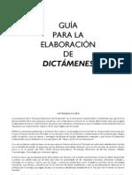 GUIA DICTAMENES