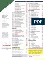 SGFP Common Fee Codes 09 6REV