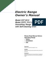 Caloric Stove Manual