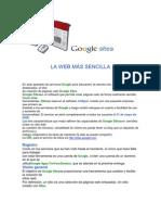 LA WEB MÁS SENCILLA