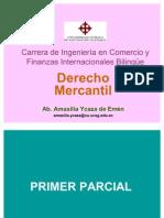 Derecho Mercantil Primer Parcial Semestre a 2011