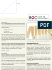 ROC Credit Risk Management Datasheet