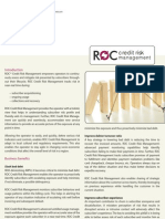 ROC Credit Risk Management Datasheet