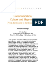 Communication Culture and Hegemony - Introduction P. Schlesinger