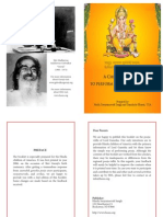 Ganesh Pooja Book - English