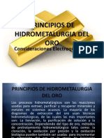 2. Principios de Hidrometalurgia Del Oro