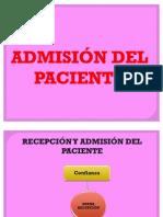 Admision Del Paciente