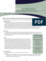 LTRC Technical Summary 454 Mechanistic Flexible Pavement Overlay Design Program