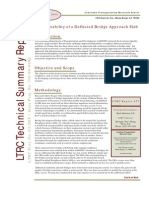 LTRC Yechnical Summary 457_revised the Ride Ability of a Deflected Bridge Approach Slab