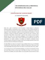 INSTITUCIONES DE ENSEÑANZA DEL CALLAO