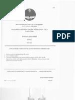 kertas percubaan BI PMR 2011 Melaka (P1)