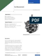 Orifice Plate Flow Meter Data Sheet