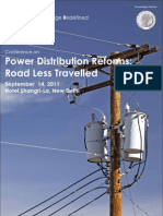 Power Distribution Reforms Road Less Travelled Agenda