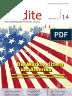 Die Märkte zittern um Amerika - Was die Herabstufung durch Standard & Poor's bedeutet und weshalb Ökonomen auf einen besseren Herbst hoffen