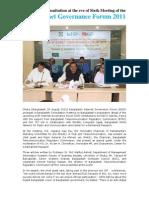 Bangladesh Consultation on  Internet Governance Forum