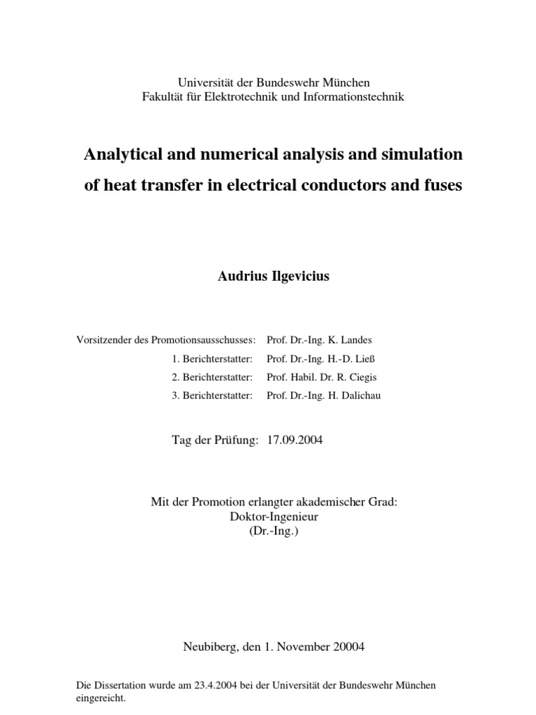 cal Model Heat Transfer | Electrical Resistivity And Conductivity