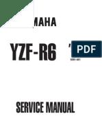 Yamaha R6 99 - 2001