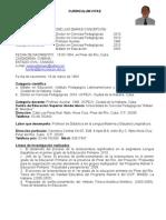 Curriculum Vitae de Dr. José Luis Darias Concepción