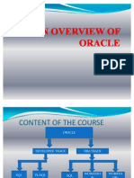 An Overview of Oracle