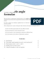 Web Double Angle