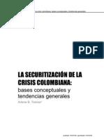 TICKNER, A. LA SECURITIZACIÓN DE LA CRISIS COLOMBIANA