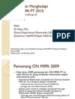 ON-MIPA PT 2010
