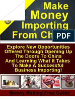 Make Money Importing From China