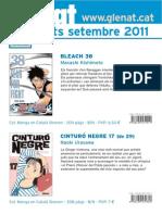 Novedades Glénat Septiembre 2011 (Catalán)