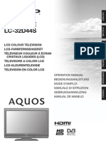 Lc32d44e-S_om_es Manual Es Tv Sharp Aquo