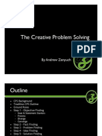 The Creative Problem Solving Process by Andrew Zenyuch.
