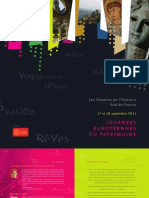JEP - Chemins de l Histoire - Brochure