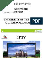 IPTV - Punjab University