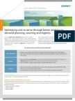 Genpact Supply Chain Analytics Supply Chain Decision Services Brochure