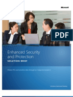 Enhanced Security and Protection Solution Brief