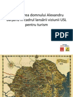 Prezentare Alexandru Baisanu Lansare Viziune USL Turism