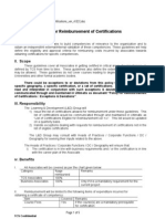 Learning Reimbursement of Certifications Policy[1]