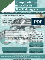 I SEMINÁRIO DE AQUICULTORES DOS CAMPOS GERAIS