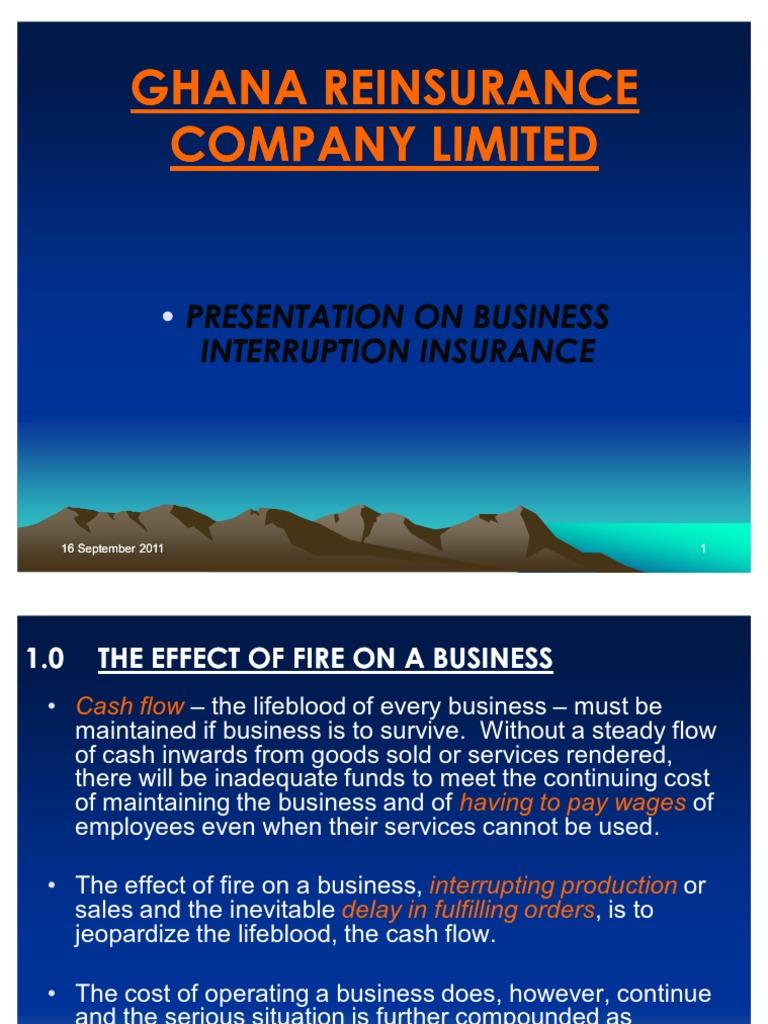 Business Interruption Insurance - Crystal Palm