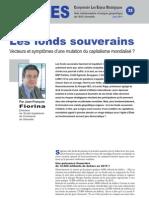 Les fonds souverains - Notes d'analyse Géopolitiques n°32
